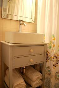 Diy Vessel Sink Cabinet Suburban Urbanist