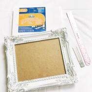 Diy Vintage Frame Pin Board