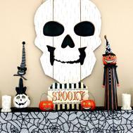 Diy Vintage Halloween Mantel Refresh Budget