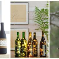 Diy Wine Bottle Crafts Empty Decoration Ideas