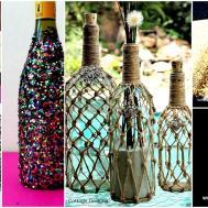 Diy Wine Bottle Projects Ideas Should