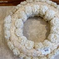 Diy Winter Pom Wreath Wonderful Thought