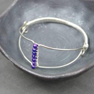 Diy Wire Wrapped Bangle Bracelet Jig Blitsy