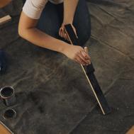 Diy Wood Door Mat Make Stake