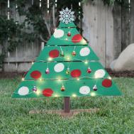 Diy Wood Pallet Christmas Tree Ehow