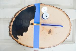 Diy Wood Slice Serving Tray Project Nursery