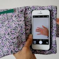 Diy Wristlet Phone Case Wallet Funnycat