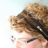 Diy Zipper Headband Flickr Sharing