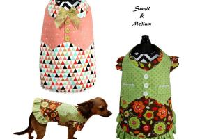 Dog Dress Pattern Clothes Sewing Pdf Tutorial