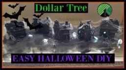 Dollar Tree Diy Halloween Haunted Houses Home Decor