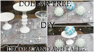 Dollar Tree Diy Room Decor Balls Cup Cake Stand