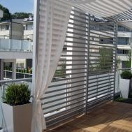 Dominated Modern Textures Penthouse Belgrade
