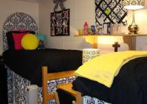 Doodlebug Designs Dorm Room Upholstered Headboard
