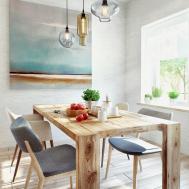 Duplex Penthouse Scandinavian Aesthetics Industrial