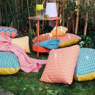 Durable All Weather Outdoor Cushions Fun Fruit