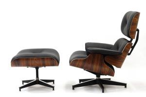 Eames Lounge Chair Icon Modern Design Book