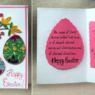Easter Card Make Quilling Egg