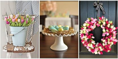 Easter Decoration Ideas Flower Arrangements
