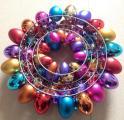 Easter Egg Wreath Decorations Metal Frame Buy