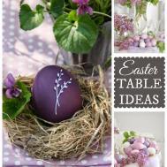 Easter Entertaining Egg Decorating Preparing