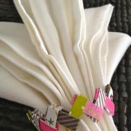Easter Table Decorations Paper Chain Napkin Rings