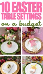 Easter Table Setting Ideas Budget Nest