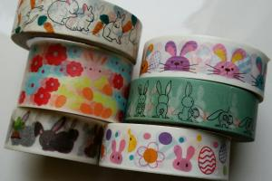 Easter Washi Rabbit Tape Rabbits