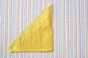 Easy Corn Napkin Tutorial Fun Yum Frills