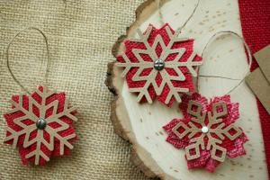 Easy Diy Burlap Christmas Ornaments Creative Studio
