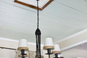 Easy Diy Ceiling Medallion