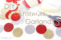 Easy Diy Christmas Garland Minutes Mom