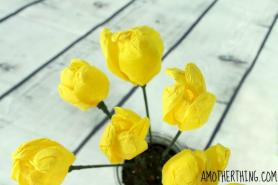Easy Diy Crepe Paper Tulips Craft Tutorial Mother