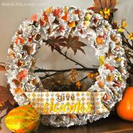 Easy Diy Fall Thanksgiving Wreath Make Life Lovely