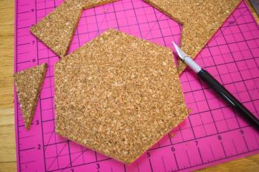 Easy Diy Hexagon Carrara Marble Coasters Merriment Design