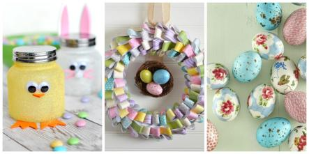Easy Easter Crafts Ideas Diy Decorations