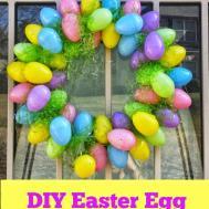 Easy Easter Egg Wreath Diy