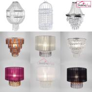 Easy Fit Chandelier Chic Ceiling Pendant Light Shade