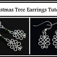 Easy Jewelry Tutorial Celtic Christmas Tree Holiday