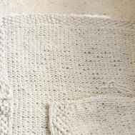 Easy Knit Blanket Sweater Pattern Mama Stitch