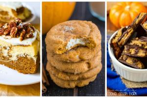 Easy Pumpkin Dessert Recipes Sweet Fall Desserts