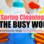 Easy Spring Cleaning Tips Busy Woman Mom Fabulous