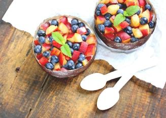 Easy Summer Breakfast Ideas Yogurt Tarts Fruit