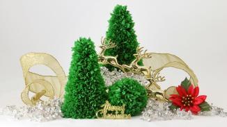 Easy Tabletop Paper Christmas Tree
