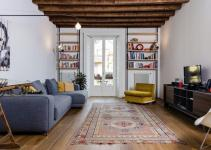 Eclectic Renovation Brings Back Memories Milan Apartment