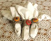 Eco Chic Button Napkin Rings Think Crafts Createforless