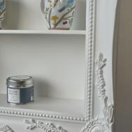 Edge White Shelf William Wood Mirrors