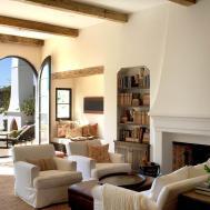 Elegant White Moroccan Living Room Raysa House