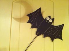Ellen Art Craft Halloween Bat