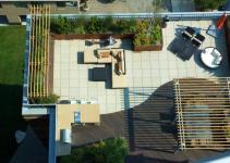 Exterior Fabulous Modern Terrace Garden Ideas Hestha Home