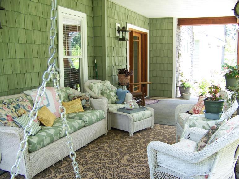 Exterior Facelift Porch Decorating Ideas Interior